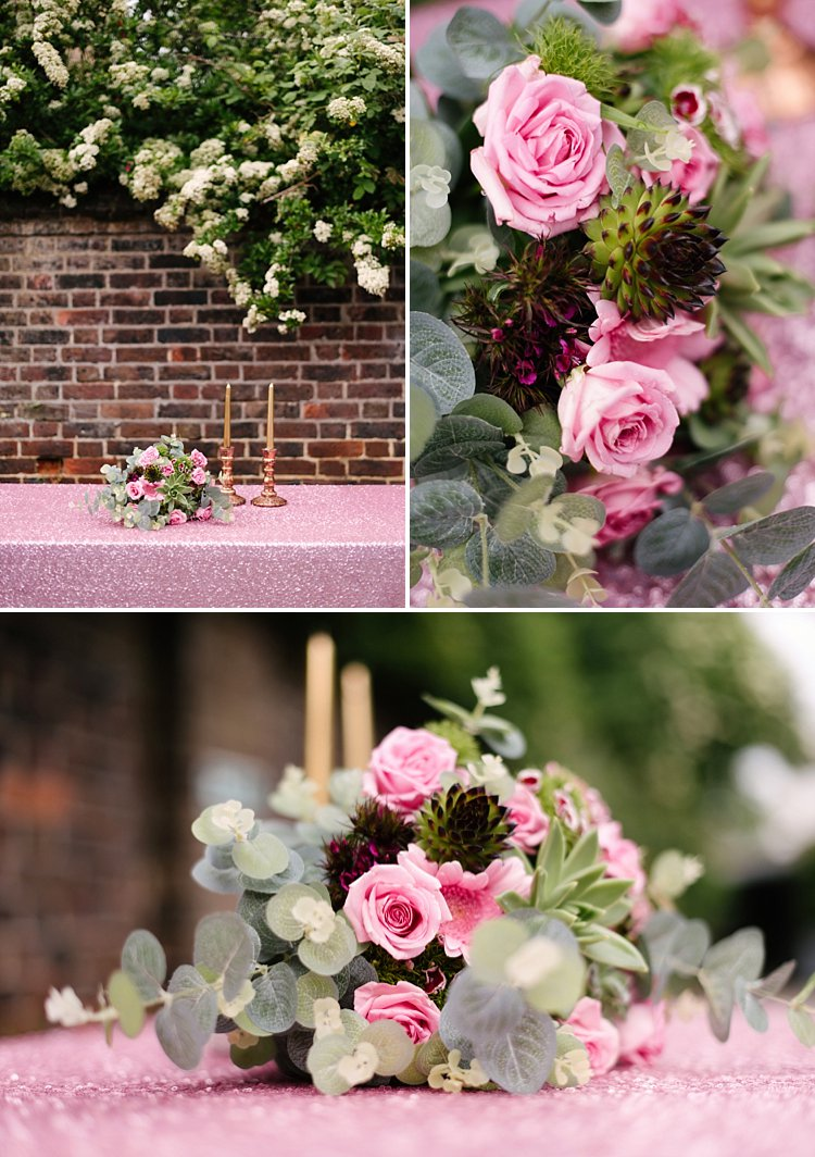 east-london-courtyard-wedding-photographer-succulent-pink-vintage-lily-sawyer-photo