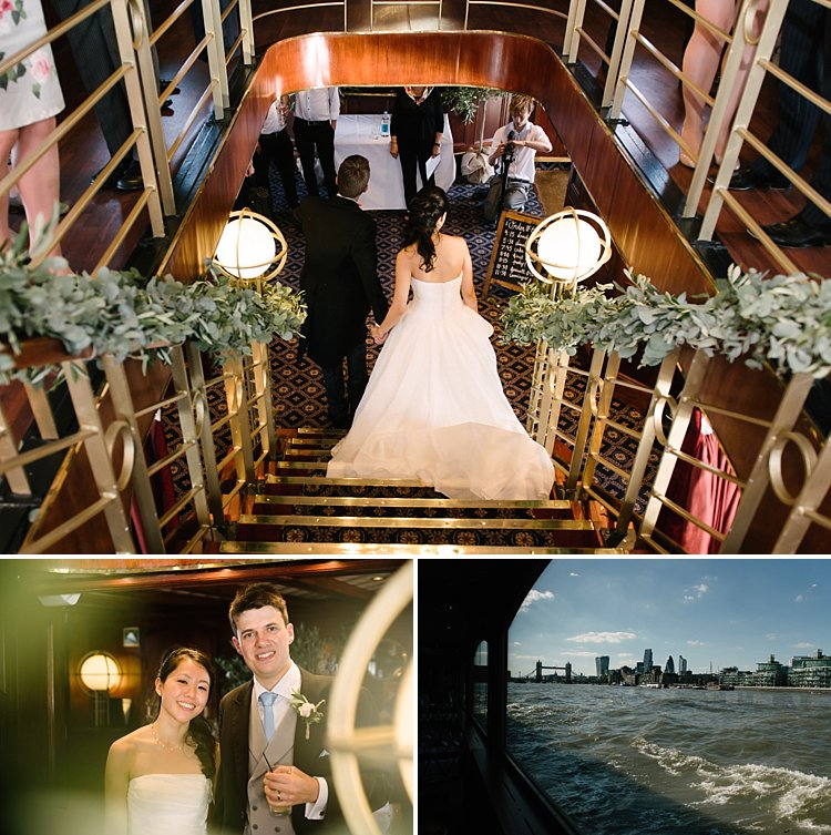 Style me pretty wedding london lina oliver elizabethan boat lily sawyer photo 0051
