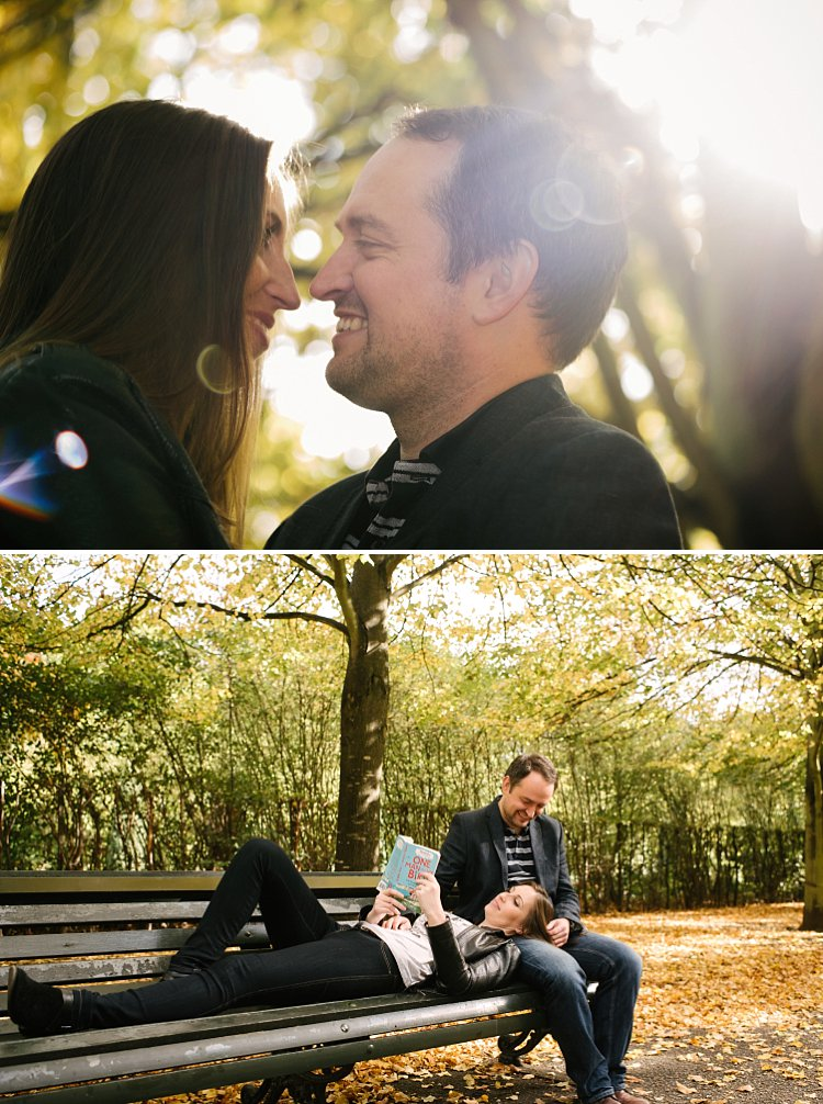 Regents park wedding photographer engagement photogshoot autumnal natural classic lily sawyer photo 0065
