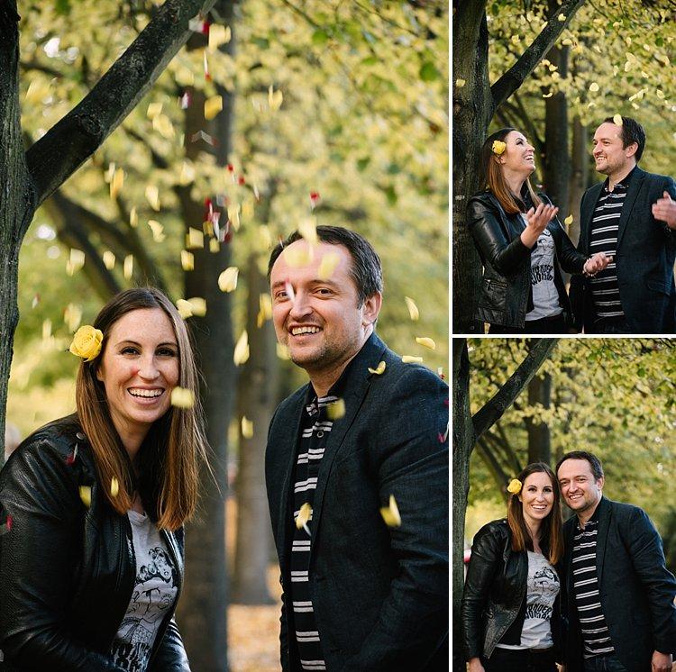 Regents park wedding photographer engagement photogshoot autumnal natural classic lily sawyer photo 0068