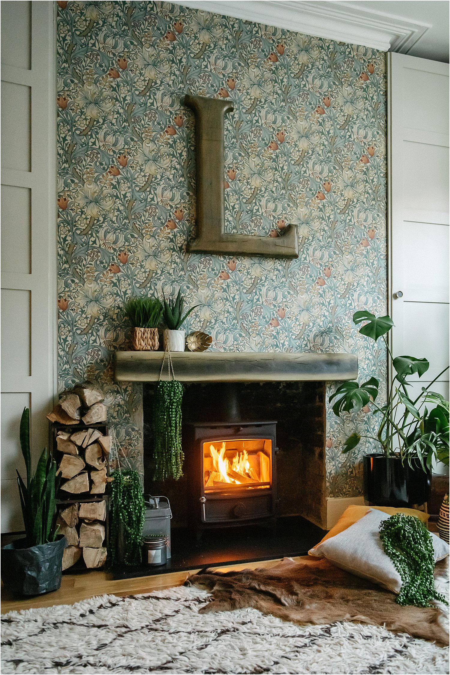 how-a-wood-burner-stove-changed-lifestyle-cosy-maximalist-eclectic-interiors-lily-sawyer-photo