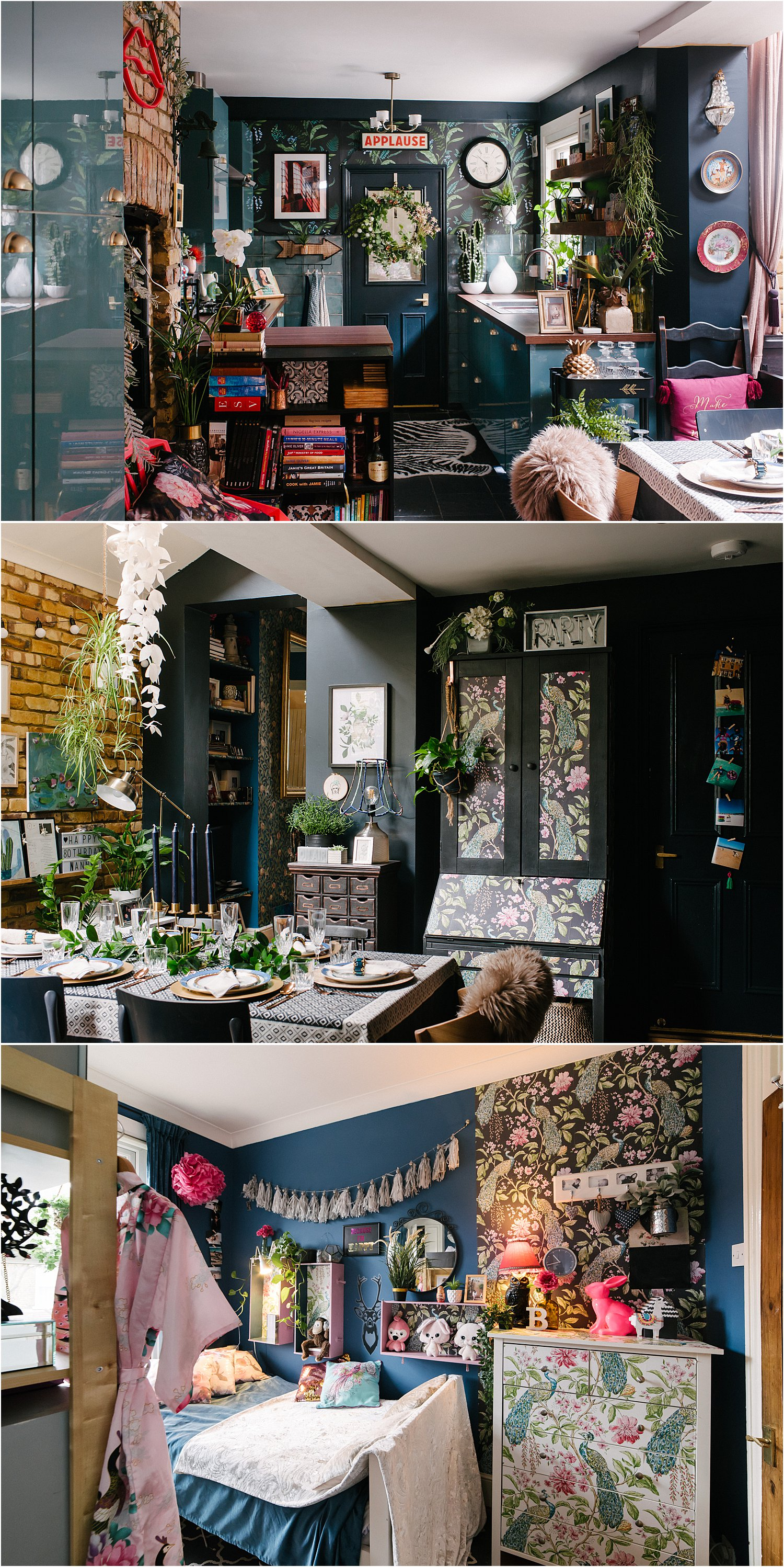 3-reasons-to-try-wallpaper-dark-eclectic-maximalist-interiors-lily-sawyer-layered-home