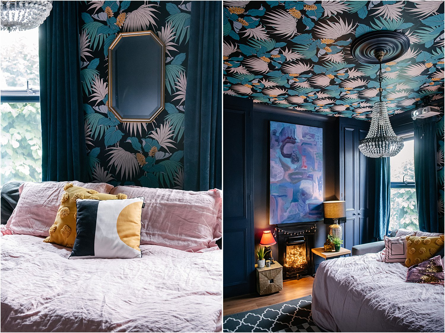 3-reasons-to-try-wallpaper--dark-eclectic-maximalist-interiors-lily-sawyer-layered-home