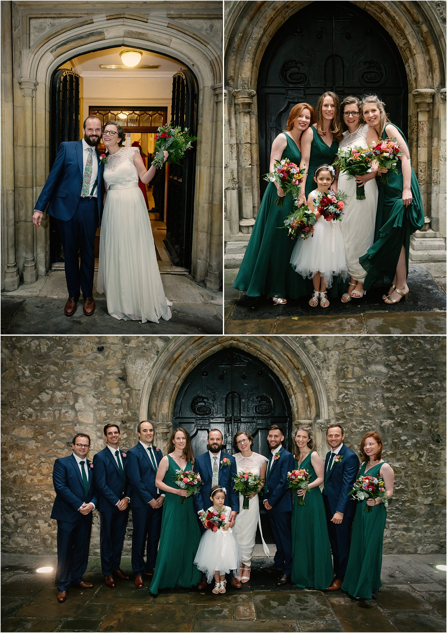 dark-green-red-orange-wedding-london-city-st-helens-the-wren-wild-wedding-flowers-lily-sawyer-photo