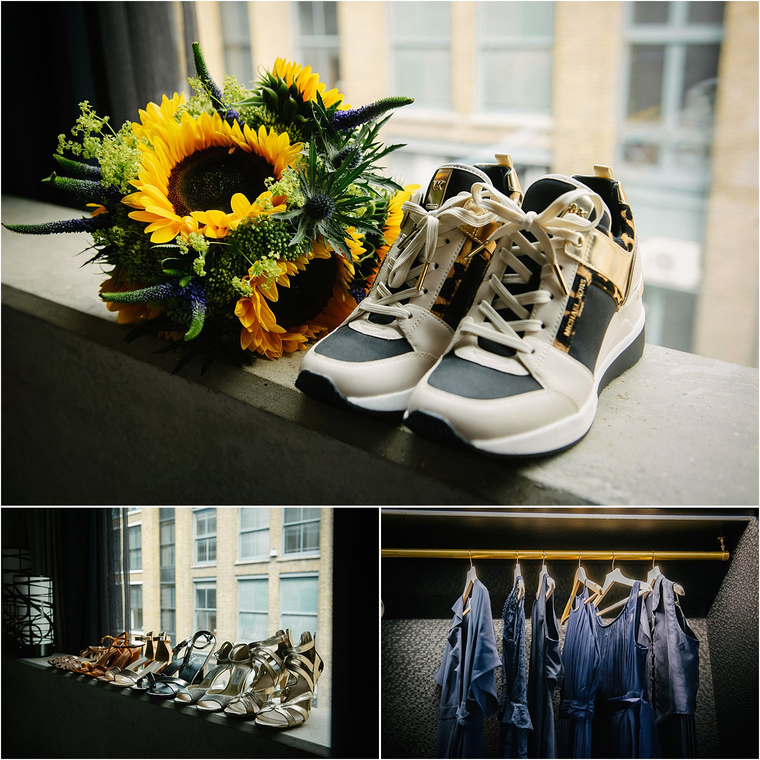 wilton-music-hall-wedding-blue-sunflowers-cupcakes-lily-sawyer-photography