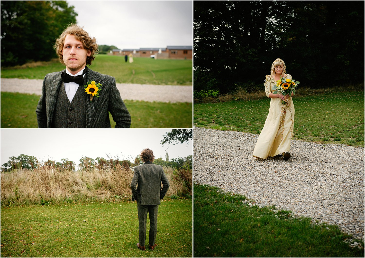 norfolk-farm-wedding-in-the-woods-sunflowers-gold-green-autumn-lily-sawyer-photos
