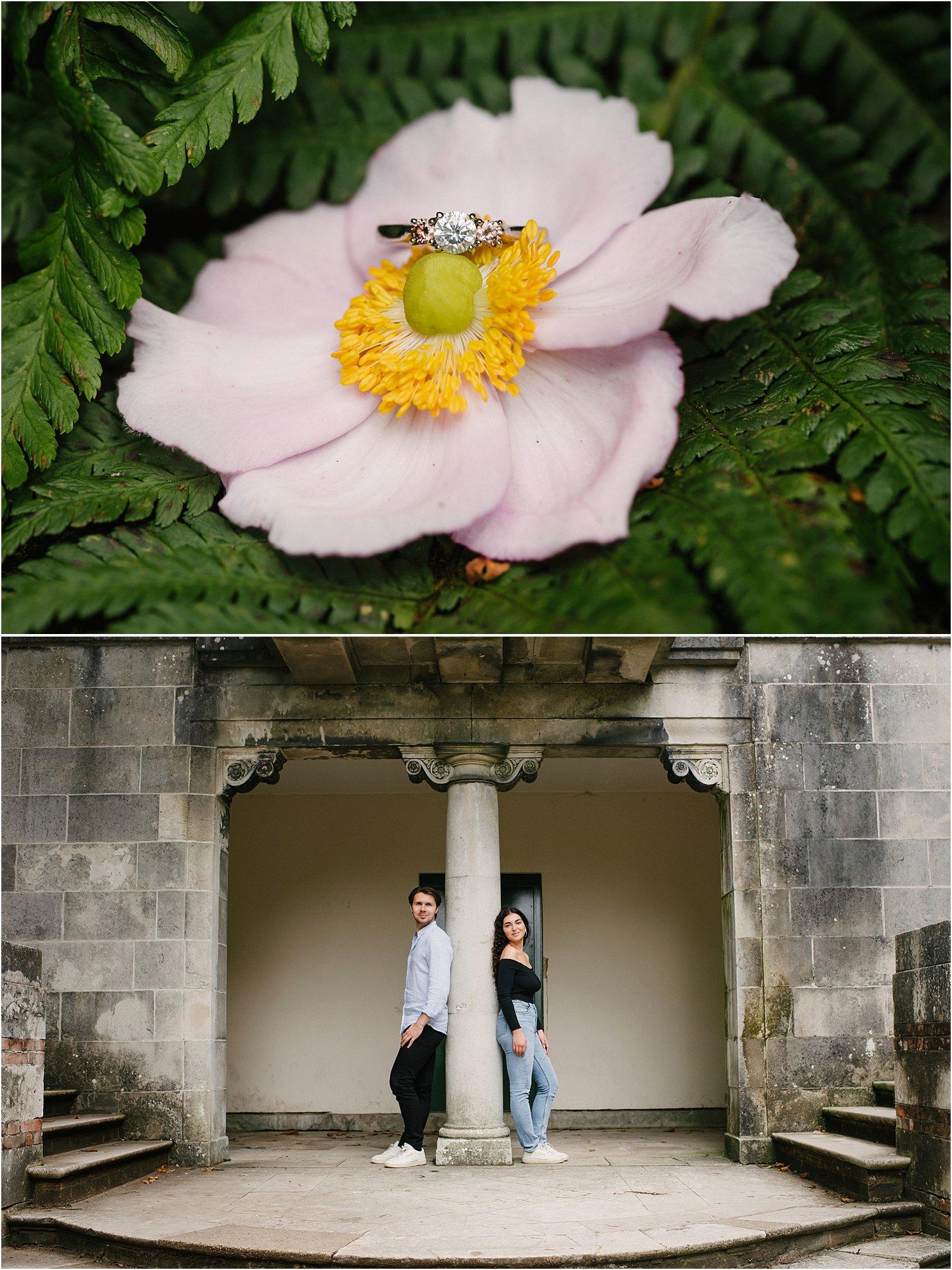 hill-garden-pergola-engagement-photoshoot-hannah-elliott-north-london-lily-sawyer-photography